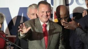 المرشح الجمهوري لمجلس الشيوخ عن ولاية ألاباما روي مور