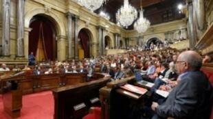 البرلمان الكاتالوني