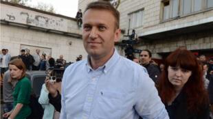 Alexeï Navalny, l'une des principales figures de l'opposition russe, est à l'initiative d'une manifestation autorisée par Moscou.