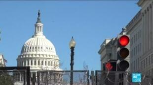 2021-03-04 10:08 Menacé d'une nouvelle attaque, le Capitole américain sous sécurité renforcée