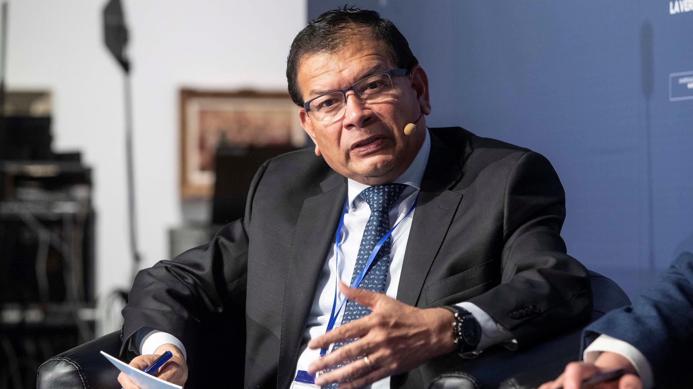 El ministro de Agricultura de Perú, Jorge Montenegro.