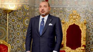 الملك محمد السادس في 20 آب/اغسطس 2015