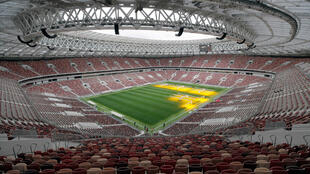 Una vista interior muestra el Estadio Luzhniki que albergará los partidos de la Copa Mundial de la FIFA 2018 en Moscú, Rusia 29 de agosto de 2017.