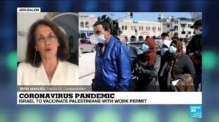 2021-03-02 13:37 Coronavirus pandemic: Israel to vaccinate Palestinians with work permit