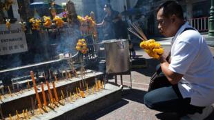 المعبد الهندوسي الذي استهدفه الاعتداء