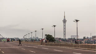 Alors que la situation politique est tendue RDC, les rues de la capitale Kinshasa sont vides.