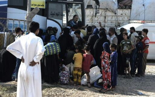 The Iraqi displaced no one wants