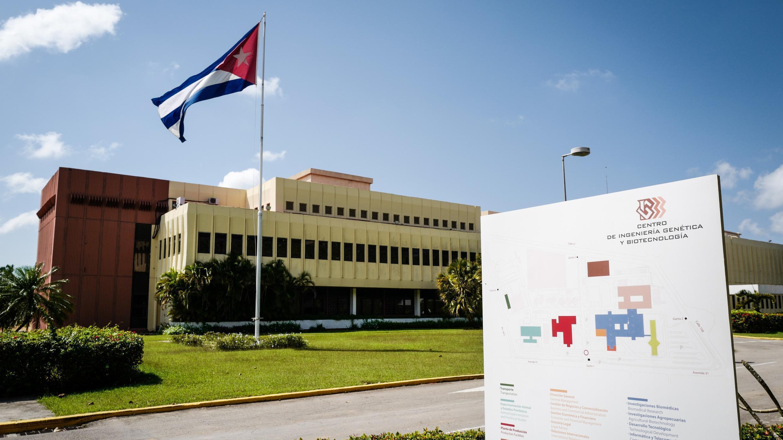 Vista del Centro de Ingeniería Genética y Biotecnología de La Habana, el 12 de abril de 2018.