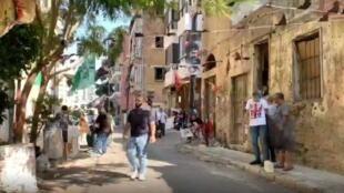 Les commémorations de l'Achoura perturbées par le Covid-19 à Beyrouth.