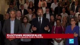 2020-06-28 20:05 Municipales 2020 : Le Premier ministre Edouard Philippe vainqueur au Havre avec 59% des voix