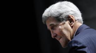 Le secrétaire d'État américain John Kerry à Vienne pour la dernière ligne droite des négociations sur le nucélaire iranien, le 12 juillet 2015.