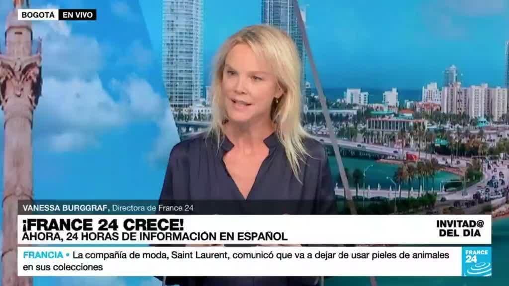 """2021-09-24 15:22 Vanessa Burggraf: """"Los periodistas de France 24 vienen de todos los rincones de América Latina"""""""