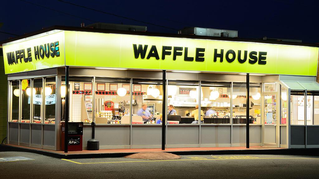 Six restaurants Waffle House étaient fermés le 31 août, signe que l'ouragan Harvey avait été très violent.