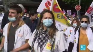 """2020-06-16 18:03 """"On ne lâchera rien !"""" : les soignants manifestent dans toute la France"""