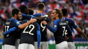 Les Bleus ont remporté leur match comptant pour les qualifications de l'Euro-2020 face à Andorre 3-0 au Stade de France, le 10 septembre 2019.