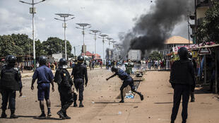 Guinea conakry violence police protest