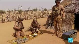 2019-12-26 10:04 French troops and Malian soldiers root out terrorists in the country's north