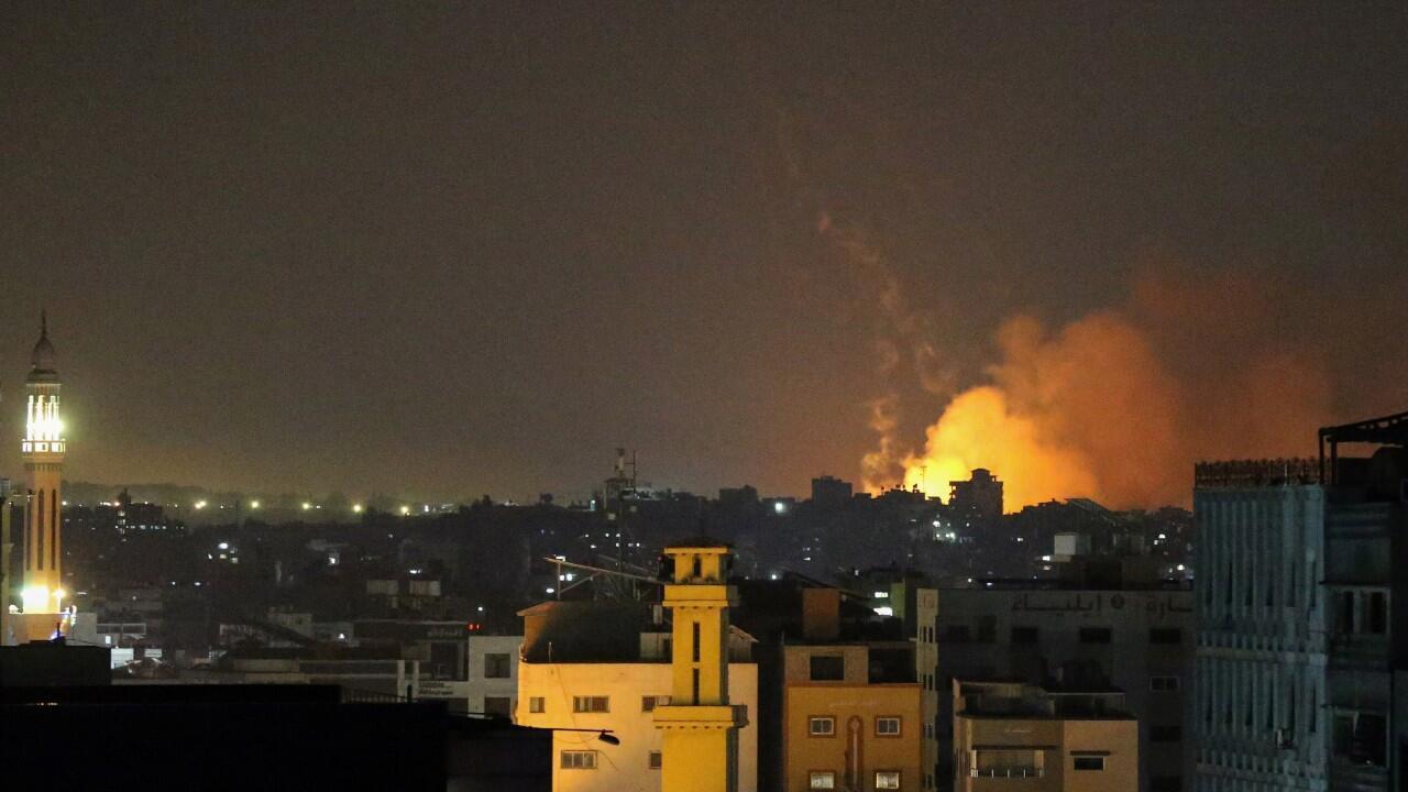 ISRAEL GAZA JUEVES 1