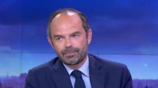Le Premier ministre Édouard Philippe, le 30 mai 2017 sur le plateau de France 2.