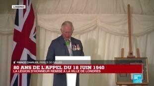 2020-06-18 15:52 Appel du 18 juin : le Prince Charles prononce un vibrant discours à l'égard de la France