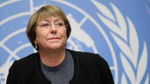 """Para Michelle Bachelet, alta comisionada para los Derechos Humanos de la ONU, la Declaración abrió el camino para un """"mejor acceso a la justicia, protección social, oportunidades económicas y participación política"""".."""
