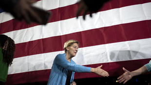 Democratic candidate Elizabeth Warren withdraws from the race to become the next US president. (File photo.)