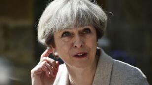 رئسة الوزراء البريطانية تيريزا ماي