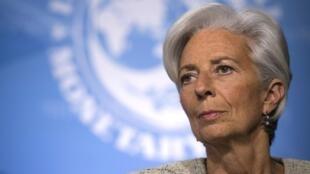 كريستين لاغارد رئيسة البنك المركزي الأوروبي.