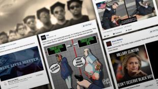 Une importante partie des messages promus par la propagande russe sur Facebook visait spécifiquement la communauté noire américaine