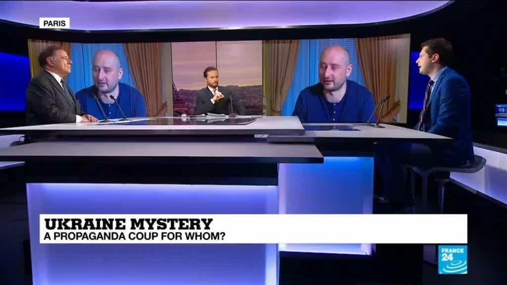 The Debate - Russian journalist's faked murder: A propaganda coup
