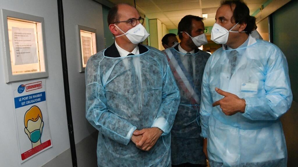 """رئيس الوزراء الفرنسي: وتيرة انتشار فيروس كورونا في البلاد تسير """"بالاتجاه الخاطئ"""""""