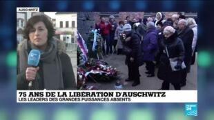 """2020-01-27 10:02 75 ans de la libération d'Auschwitz : Une """"bataille mémorielle"""" entre la Pologne et la Russie"""