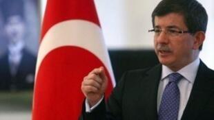رئيس الحكومة التركية أحمد داود أوغلو