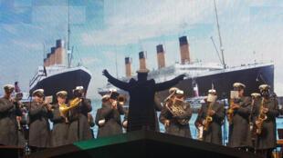 Cérémonie d'hommage aux victimes du naufrage du Titanic, à Halifax le 14 avril 2012