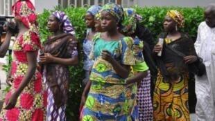 """تلميذات نيجيريات كن رهائن لدى جماعة ''بوكو حرام """" الإسلامية المتشددة"""