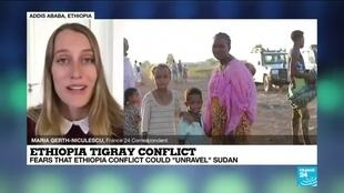 "2020-11-20 14:12 UN fears that Ethiopia-Tigray conflict could ""unravel"" Sudan"