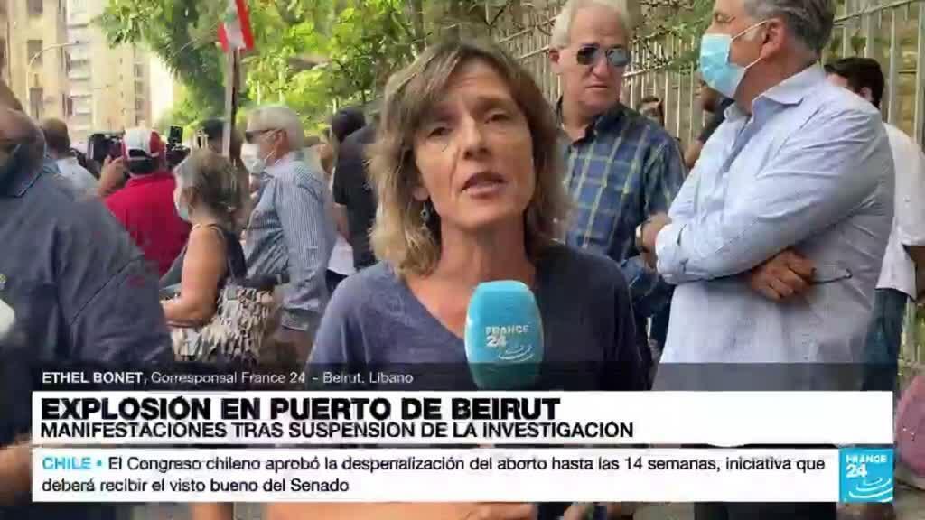 2021-09-29 14:07 Informe desde Beirut: protestas tras suspensión de la investigación sobre la explosión en el puerto
