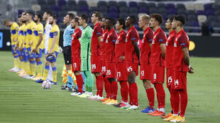 Austrian champions Salzburg announced Sunday that three players had tested positive for coronavirus after their midweek Champions League play-off match against Maccabi Tel Aviv