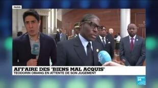 2020-02-10 13:06 Procès Teodorin Obiang : Le fils du président équatoguinéen en attente de son jugement
