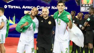 En moins d'un an, le sélectionneur algérien Djamel Belamdi a mené les Fennecs au titre continental.