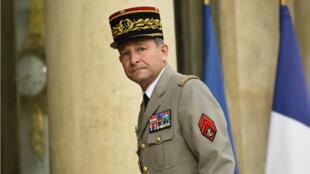 Le chef d'état-major des armées, Pierre de Villiers, à l'Élysée, le 27 juillet 2016.