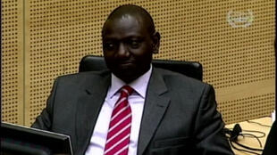 Kenya's Vice President William Ruto at the start of his ICC trial in The Hague in September, 2013