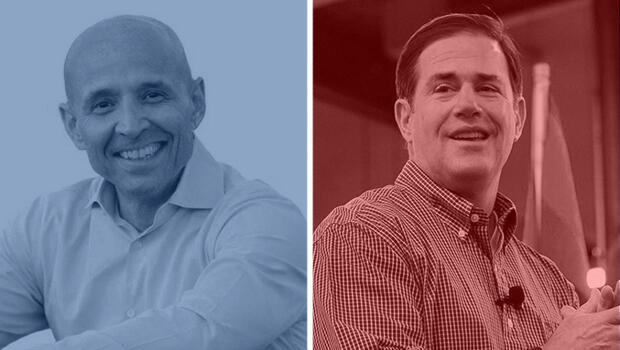 Gobernación de Arizona: David García (demócrata) vs. Doug Ducey (republicano)