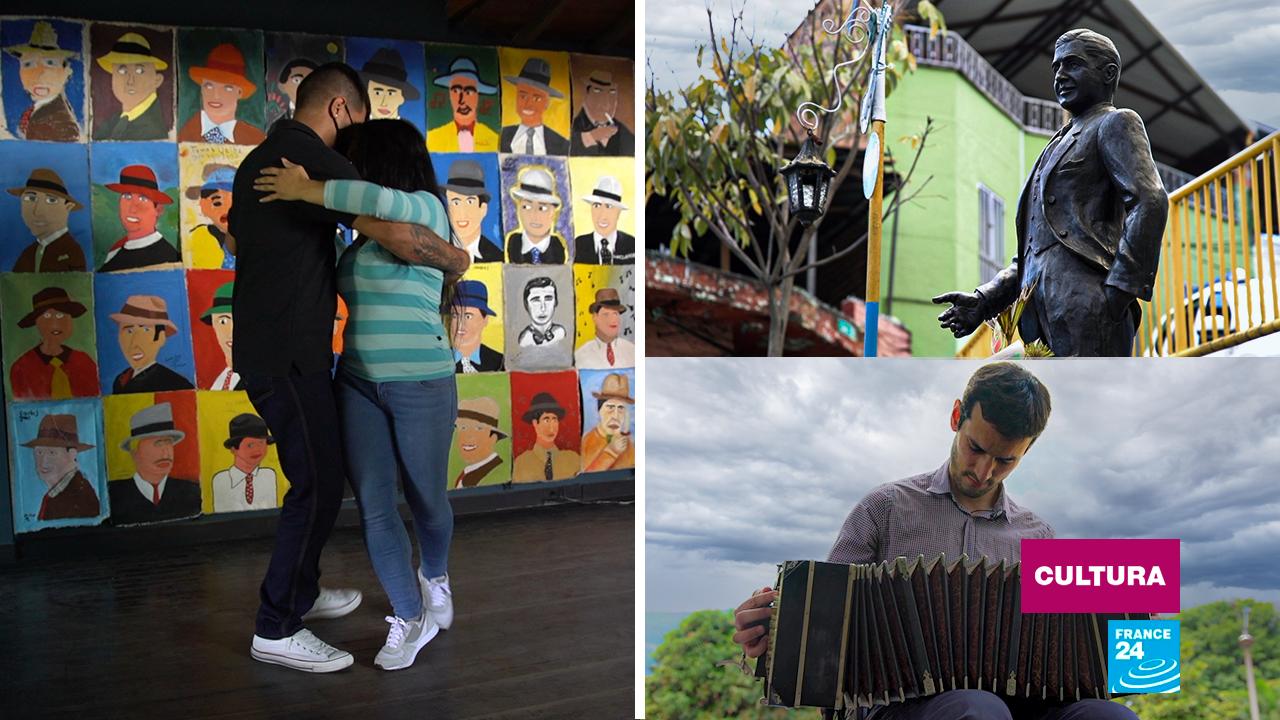 Pasos de tango, ofrendas al cantor Carlos Gardel y notas del célebre bandoneonista Lautaro Greco forman parte de este programa especial sobre Medellín.