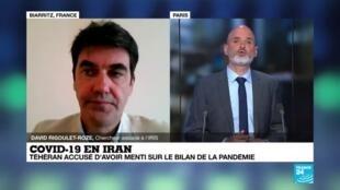 2020-08-04 09:05 Covid-19 en Iran : le bilan officiel aurait été divisé par trois