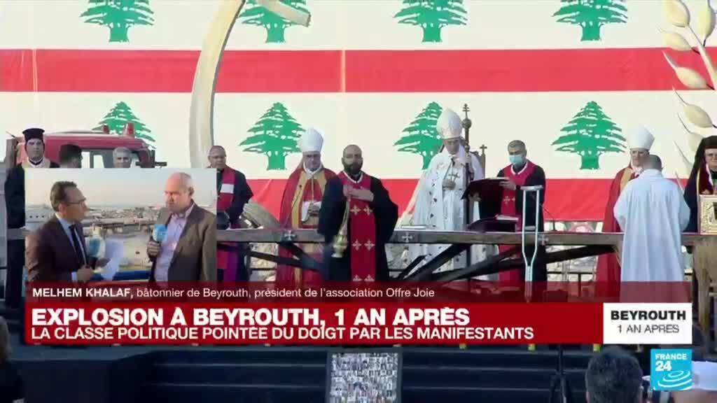 """2021-08-04 17:34 Explosion à Beyrouth, un an après : dans l'enquête, """"on sent qu'il y a une réticence à deux niveaux"""""""