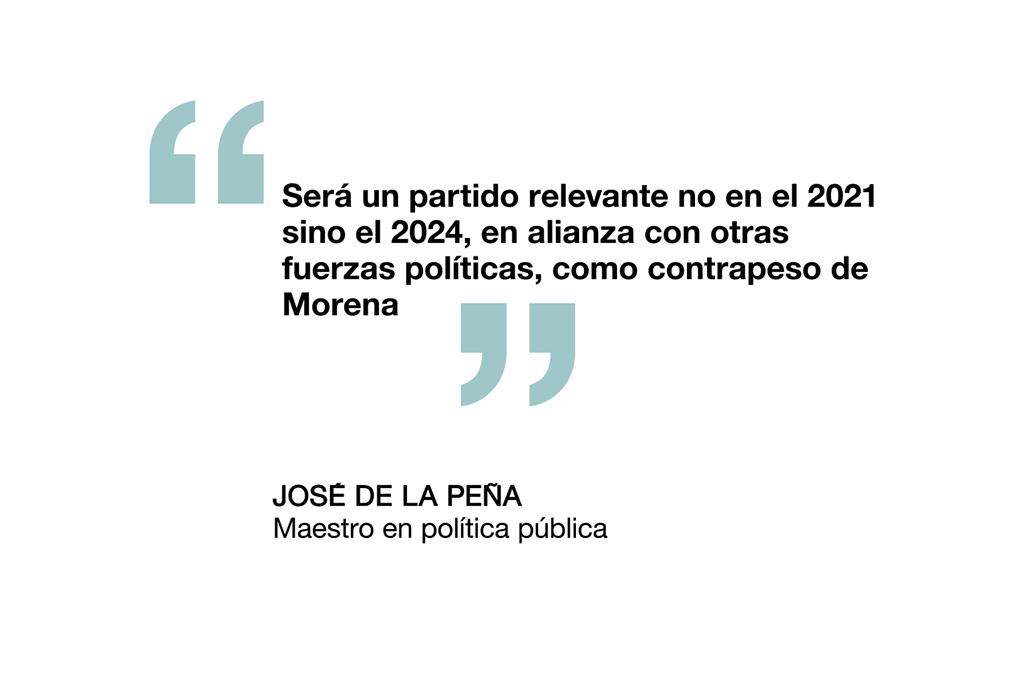 José de la Peña, maestro en política pública.