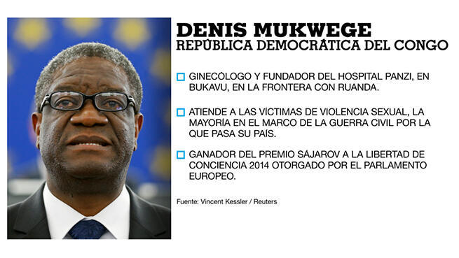 Denis Mukwege, Premio Nobel de Paz 2018