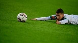 Thorgan Hazard and his Gladbach teammates endured a frustrated evening