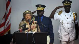 رئيسة ليبيريا ايلين جونسون سيرليف